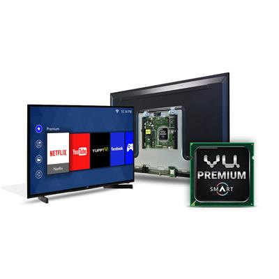 Vu 102 cm (40) Full HD Smart LED TVH40K311