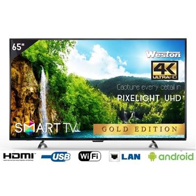 """Weston 165 cm (65"""") 4K (Ultra HD) Smart LED TV WEL-6500"""