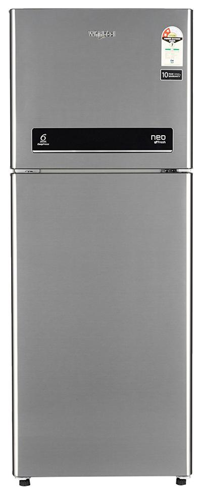 Whirlpool 245 L Double Door Refrigerator (Neo Sp258 Roy 2S, Arctic Steel)