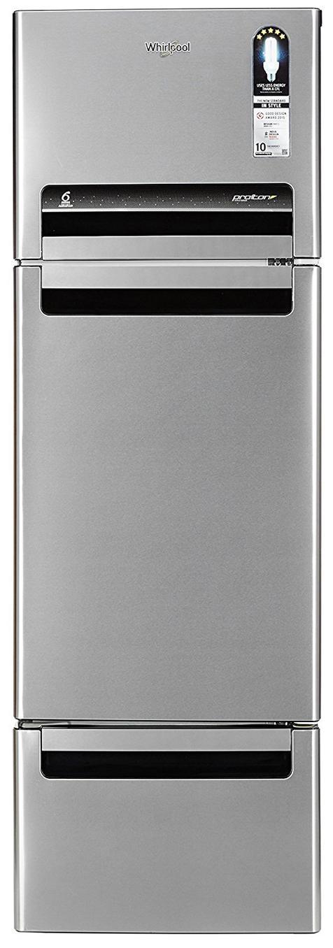 Whirlpool Frost Free 260 L Triple Door Refrigerator (Fp 283D Protton Roy)