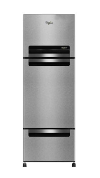 Whirlpool-Whirlpool-Whirlpool-FP-313D-PROTTON-Royal-(Steel-Knight)-300-Litres-Triple-Door-Refrigerator