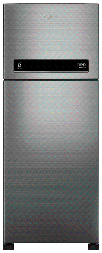 Whirlpool Frost Free 265L Double Door Refrigerator (Neo Df278 Prm 3S Cool Illusia Steel )