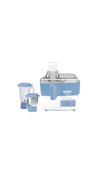 Maharaja-Whiteline-Real-550-W-Juicer-Mixer-Grinder-(White-&-Blue/2-Jar)75-OrdersMaharaja-Whiteline-Real-550-W-Juicer-Mixer-Grinder-(White-&-Blue/2-Jar)-Maharaja-Whiteline-Real-550-W-Juicer-Mixer-Grinder