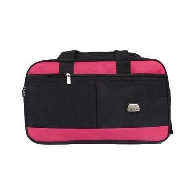 Asm Black Polyester Duffle Bag