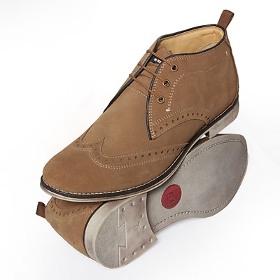 Red Chief Swed Rust Mens Ankle Boots