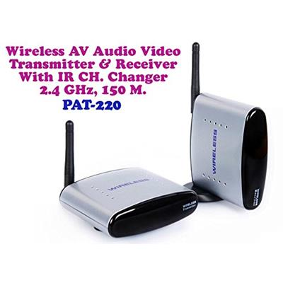 Checksums Wireless_AV_Transmitter_White Audio Reciever