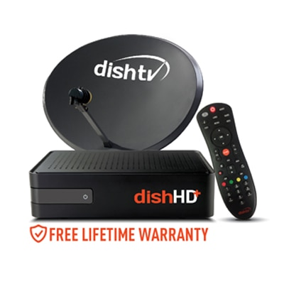 DishTV HD Connection- All India Pack