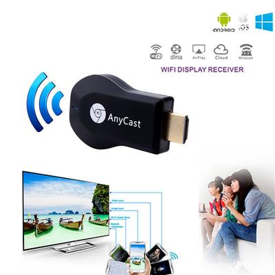 Imported Anycast WiFi 1080P HDMI Full-HD TV DLNA Wireless Airplay...