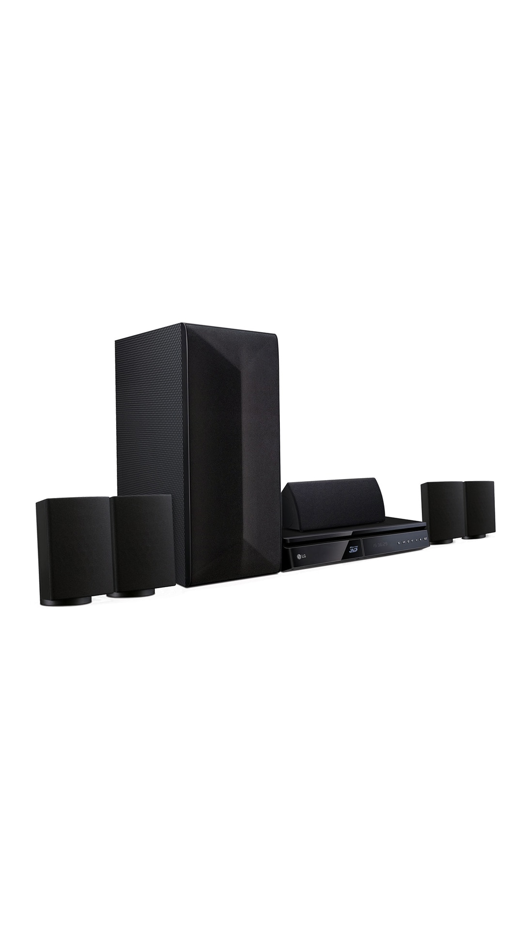 LG LHB625 Blu Ray Player 5.1 Channel Home Theatre System