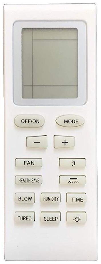 Remote for VOLTAS/Onida/GODREJ/Lloyd/VIDEOCON Air Conditioners (YB1FA YB0F YB1F2 YB1FB YB0F2 YB1FAF YB1F2F YB1F Y512V2 YB1B4 Y612C Y201M YAP0D Y202) 1