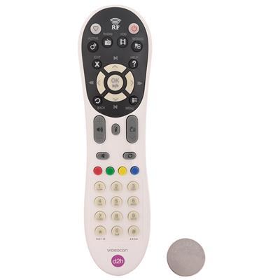 DTH Remote For Videocon (White)
