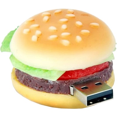 Microware Burger Shape Designer 8GB Pen Drive