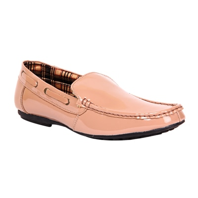 Haroads Patent Leather Loafers (Size-6)