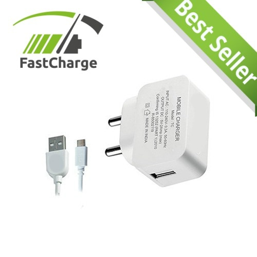 S4 White Wall Charger