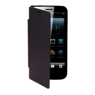Ace HD Flip Cover For Gionee Pioneer P3  Black  available at Paytm for Rs.159