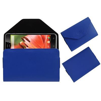 Acm Pouch For Lava Iris Pro 30+ (Blue)