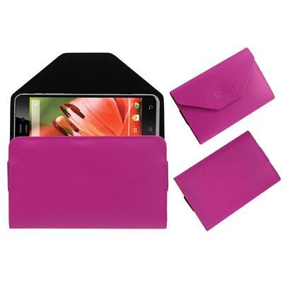 Acm Pouch For Lava Iris Pro 30+ (Pink)