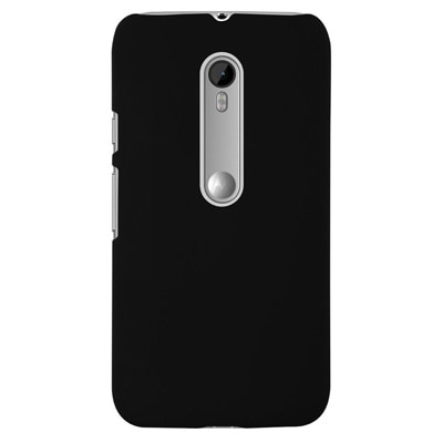 Akkase Back Cover For Motorola Moto G Turbo Edition/Motorola Moto G (3rd Gen) (Black)