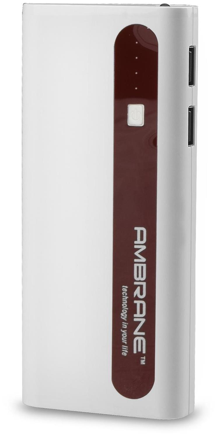Ambrane P-1310 13000 mAh Power Bank (Brown)