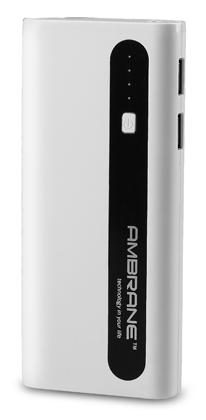 Ambrane P-1310 13000mAh Power Bank (White & Black)