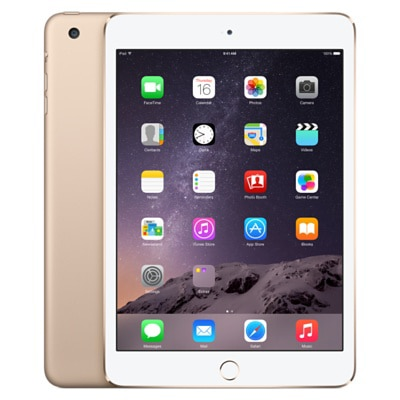 Apple iPad Mini 3 With WiFi 16 GB (Golden)
