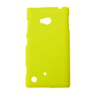Bacchus Back Cover For Nokia Lumia 720  Yellow  available at Paytm for Rs.175