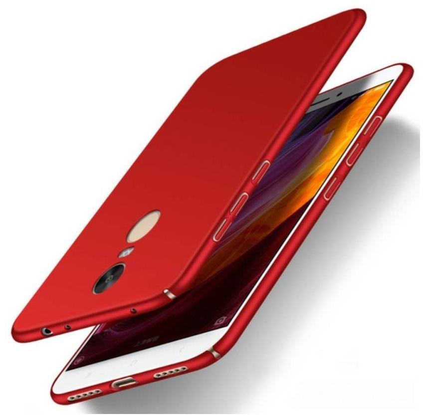 G. S. ENTERPRISES Back Cover For Redmi Note 5 & Mi Redmi Note 5 Plastic Maroon