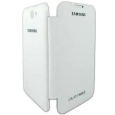 BeingStylish Flip Cover For Samsung Galaxy Note Ii N7100 (White)