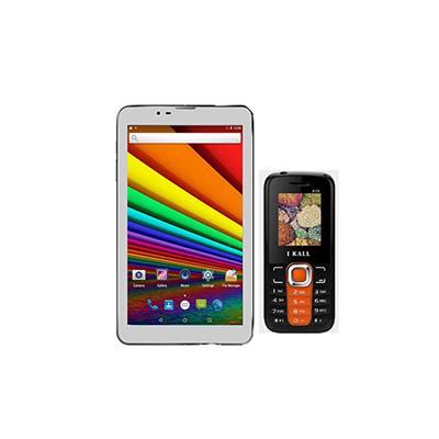I KALL N3 & K99 Combo(White & Orange) Paytm Mall Rs. 3431