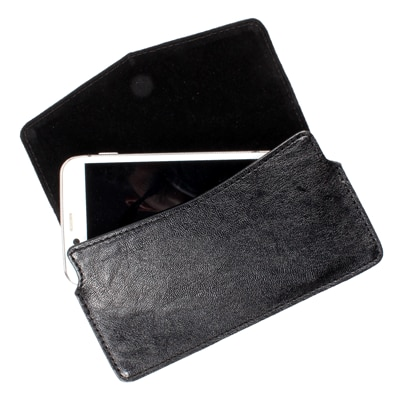 Dood Pouch For Lava Iris Pro 30 (Black)