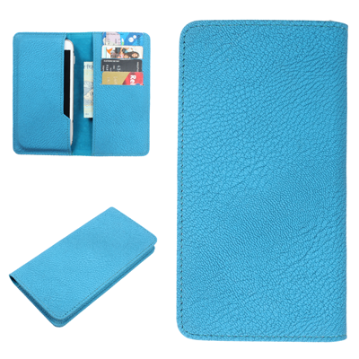 Dood Pouch For Lava Iris Pro 30 (Blue)
