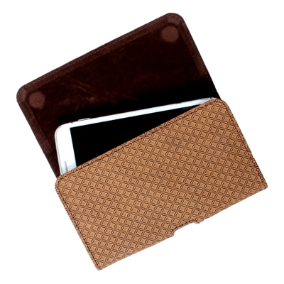 Dood Pouch For Lava Iris Pro 30 (Brown)