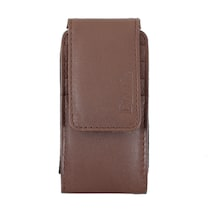 DooDa Pouch Case For Micromax Canvas Turbo A250 (Brown)