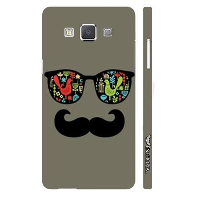 Enthopia Back Cover For Samsung Galaxy E7 (Multi Color) - 10791896