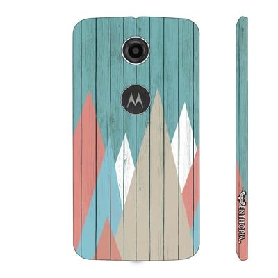 Enthopia Back Cover For Motorola Moto E 2nd Gen (Multi Color) - 10791930