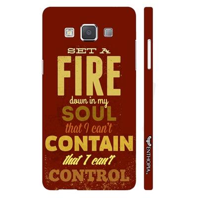 Enthopia Back Cover For Samsung Galaxy E7 (Multi Color) - 10791916