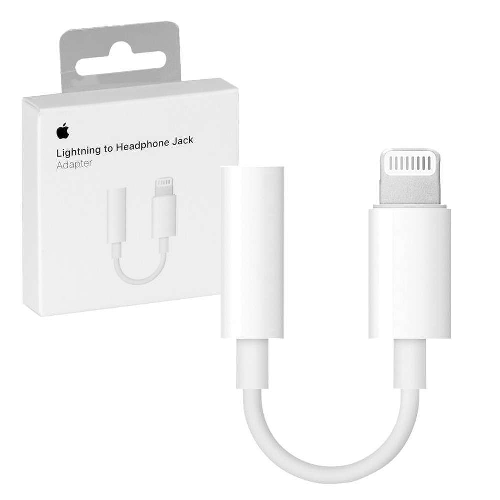 EPAQT Apple iPhone MMX62ZM/A Lightning 3.5mm Jack Earphone Hands-free Jack Cable Adapter Compatible For iPhone 5/ 6/ 6 Plus/ 7/ 7 Plus / 8/ 8 Plus