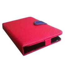 Gget Flip Cover For HCL ME Tablet Connect 2G (V1) (Red & Blue)