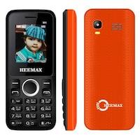 Heemax M4 Fm Radio Feature Phone- Orange