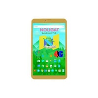I KALL N1 Gold (1+8GB) Dual Sim 4G Volte Calling Tablet 20.32 cm (8 Inch) display
