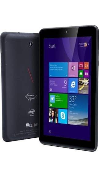 iBall Slide i701 Tablet With 3 Free Protective Covers & HDMI Cable (Black)