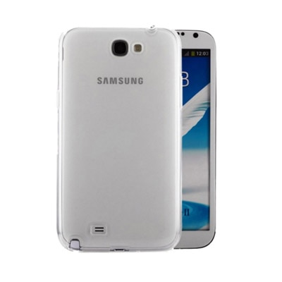 iCopertina Back Cover For Samsung Galaxy Note 2  Transparent  available at Paytm for Rs.99