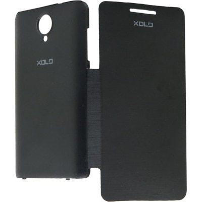 Iway Flip Cover For XOLO Q900  Black  available at Paytm for Rs.119