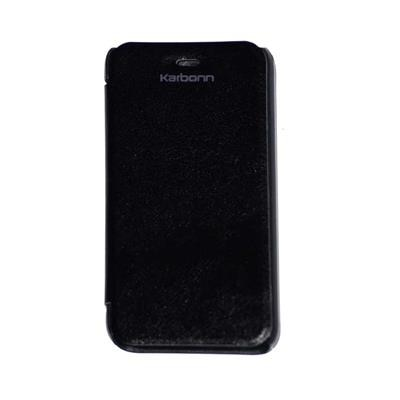 JKR Flip Cover For Karbonn Smart A50  Black  available at Paytm for Rs.279