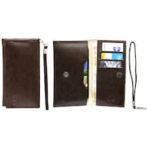 Jo Jo A5 G3 Leather Pouch For Byond B66 ( Dark Brown)