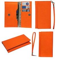 Jo Jo A5 G8 Leather Pouch For Byond B66 (Orange)