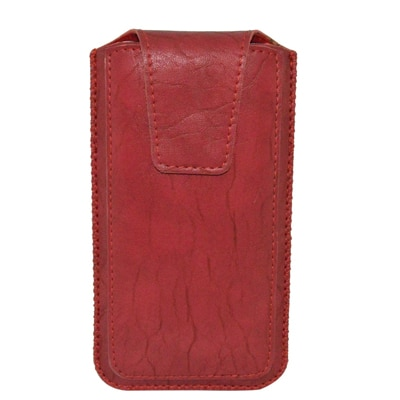 JVM Pouch For Celkon Q455L (Red)