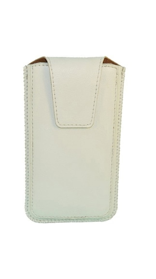 JVM-Pouch-For-Celkon-Q455L-(White)