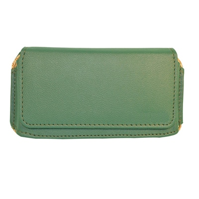JVM Pouch For  QMobile W1 (Green)