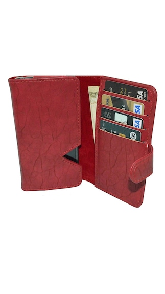 JVM-Wallet-Case-Cover-For-Huawei-P8lite-ALE-L04-(Red)